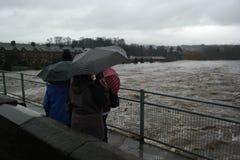 Πλημμυρίζοντας στο Γιορκσάιρ, Αγγλία Στοκ Εικόνα