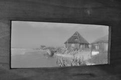 Πλημμυρισμένη κατασκευή σε Rocha Ουρουγουάη Στοκ εικόνα με δικαίωμα ελεύθερης χρήσης