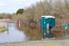 Πλημμυρισμένο ίχνος πεζοπορίας Στοκ Εικόνα