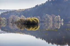 Πλημμυρισμένο Planinsko polje, Σλοβενία Στοκ φωτογραφία με δικαίωμα ελεύθερης χρήσης