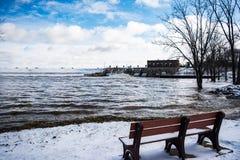 Πλημμύρα άνοιξη Στοκ εικόνες με δικαίωμα ελεύθερης χρήσης