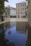Πλημμύρα σε Meyssen Στοκ Εικόνα
