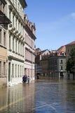 Πλημμύρα σε Meyssen Στοκ φωτογραφία με δικαίωμα ελεύθερης χρήσης