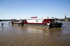 Πλημμύρα στη Δρέσδη Στοκ Φωτογραφία