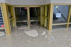 Πλημμύρα 2013 του Κάλγκαρι Στοκ Εικόνες