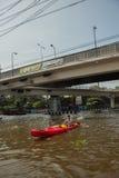 Πλημμύρες 2011 της Μπανγκόκ Στοκ εικόνες με δικαίωμα ελεύθερης χρήσης
