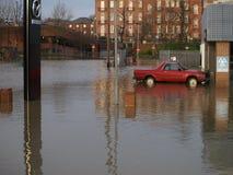 Πλημμύρες 2015 της Υόρκης Στοκ εικόνες με δικαίωμα ελεύθερης χρήσης