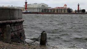 Πλημμύρες φθινοπώρου απόθεμα βίντεο