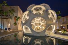 Πληρέστερος θόλος Buckminster στο της περιφέρειας του κέντρου Μαϊάμι Στοκ Φωτογραφία