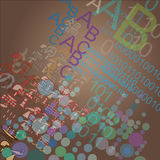 Πληροφορία-συμβολική απεικόνιση Στοκ φωτογραφία με δικαίωμα ελεύθερης χρήσης