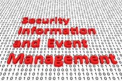 Πληροφορίες ασφάλειας και διαχείριση γεγονότος ελεύθερη απεικόνιση δικαιώματος