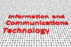 Πληροφορίες και τεχνολογία επικοινωνιών απεικόνιση αποθεμάτων