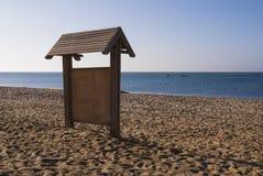 Πληροφορίες για την παραλία Στοκ εικόνες με δικαίωμα ελεύθερης χρήσης