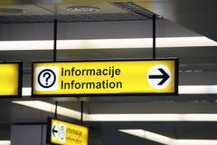 πληροφορίες Στοκ Εικόνα