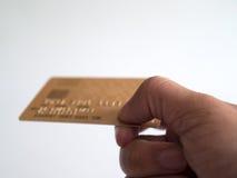 Πληρωμή από την πιστωτική κάρτα Στοκ εικόνα με δικαίωμα ελεύθερης χρήσης