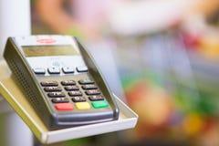 Πληρωμή με πιστωτική κάρτα Στοκ Εικόνα