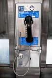 Πληρώστε το τηλέφωνο στην πόλη της Νέας Υόρκης στοκ φωτογραφία με δικαίωμα ελεύθερης χρήσης