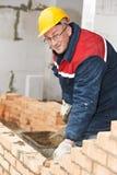Πλινθοκτίστης εργατών οικοδομών στοκ φωτογραφίες
