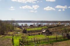 Πλοκές κήπων στη λίμνη στοκ εικόνες