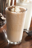 Πλούσια και κρεμώδης σοκολάτα Milkshake στοκ φωτογραφία με δικαίωμα ελεύθερης χρήσης