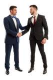Πλούσιοι και κομψοί επιχειρηματίες Στοκ Εικόνα