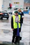Πλούσιος άνθρωπος φτωχών ανθρώπων Στοκ Εικόνες