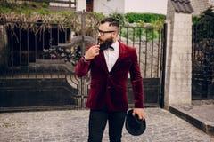 Πλούσιος άνθρωπος Στοκ φωτογραφία με δικαίωμα ελεύθερης χρήσης