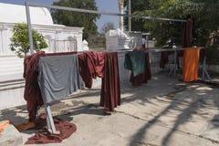 Πλυμένοι μοναχοί ενδυμάτων Στοκ φωτογραφία με δικαίωμα ελεύθερης χρήσης