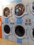 Πλυντήριο αυτοεξυπηρετήσεων Στοκ Εικόνες