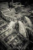 Πλυντήριο τεχνών στο headwaters ποταμό Gacka Στοκ εικόνες με δικαίωμα ελεύθερης χρήσης