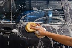 Πλύντε το αυτοκίνητο Στοκ Φωτογραφία