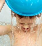 Πλύση αγοριών Στοκ Φωτογραφίες