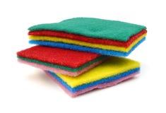 πλύση σφουγγαριών πιάτων Στοκ Φωτογραφίες