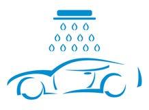 Πλύσιμο αυτοκινήτων - απεικόνιση Στοκ Φωτογραφία