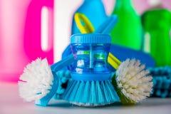 Πλύσιμο, θέμα καθαρισμού Στοκ Φωτογραφίες