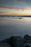 Πλύσιμο στον πάγο Στοκ Εικόνα
