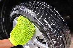 Πλύσιμο του αυτοκινήτου Στοκ φωτογραφία με δικαίωμα ελεύθερης χρήσης