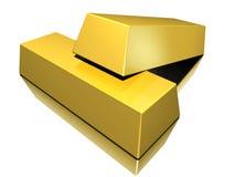 ράβδοι χρυσές Στοκ φωτογραφία με δικαίωμα ελεύθερης χρήσης