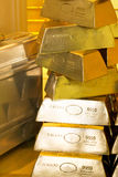 ράβδοι χρυσές Στοκ Φωτογραφία