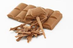 Ράβδος σοκολάτας Στοκ εικόνες με δικαίωμα ελεύθερης χρήσης