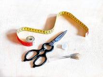 Ράβοντας εργαλεία, τέχνες, δεξιότητες Στοκ Φωτογραφίες