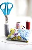 ράβοντας εργαλεία Στοκ Εικόνα