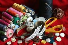 ράβοντας εργαλεία Στοκ φωτογραφίες με δικαίωμα ελεύθερης χρήσης