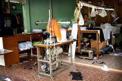 Ράβοντας εργαστήριο Στοκ φωτογραφία με δικαίωμα ελεύθερης χρήσης