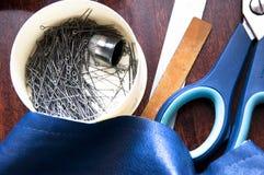Ράβοντας εργαλεία εργαστηρίων Στοκ Φωτογραφίες