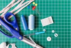 Ράβοντας εργαλεία προσθηκών Στοκ εικόνες με δικαίωμα ελεύθερης χρήσης