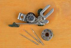 Ράβοντας εργαλείο με το τρέκλισμα Στοκ Εικόνες
