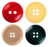 Ράβοντας κουμπιά Στοκ Εικόνα
