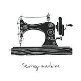 Ράβοντας μηχανή διάνυσμα Στοκ Εικόνες