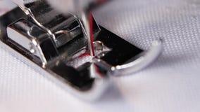 Ράβοντας μηχανή, διαδικασία διαλογής ραψίματος κλείστε επάνω κίνηση αργή απόθεμα βίντεο